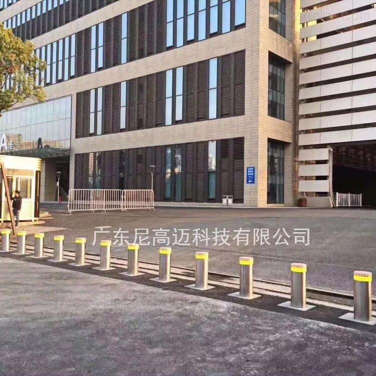 广西浦北校园升降防撞柱