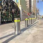 长沙小学校门外全自动升降柱 防撞伸缩路桩