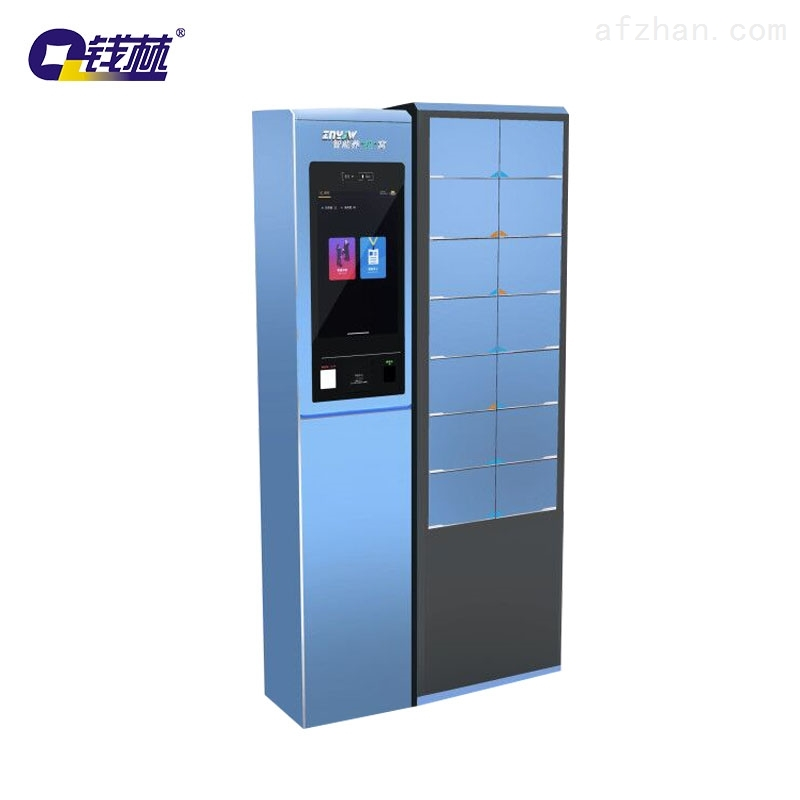 自助手机存储柜,触摸屏存取一体机