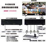 大中型会议室键盘控制像机高清录像