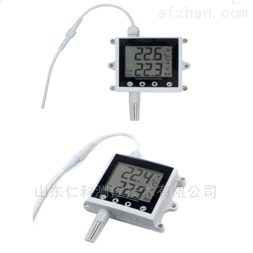 王字液晶壳温湿度变送器485型