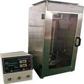 垂直燃烧性实验仪使用