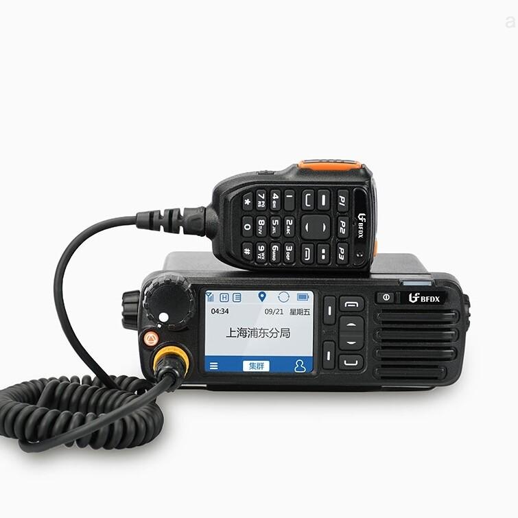 北峰PDT/DMR数字集群车载对讲机