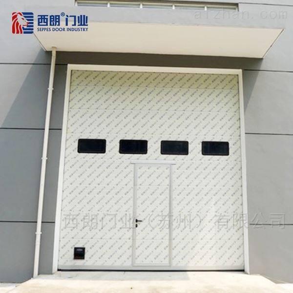 淮安仓库出口国外的电动提升门