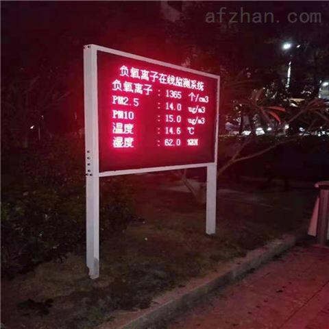 贵州古镇空气质量负氧离子在线监测