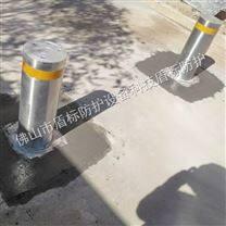 加油站安装防恐液压升降柱可伸缩停车桩