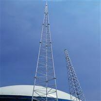 20米25米30米三柱圆钢避雷塔