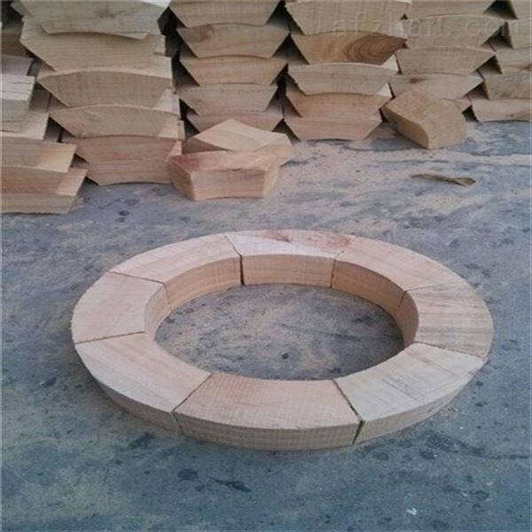 制作管道木托 优质水管木托码厂家