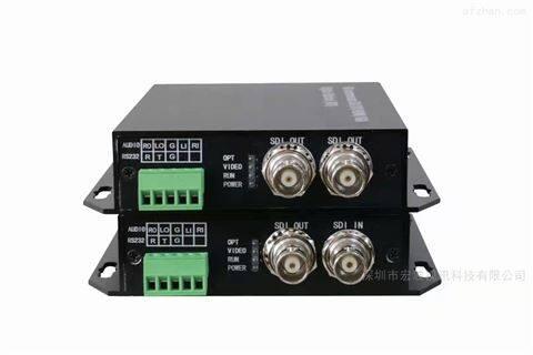 转播车单路SDI+1路SDi环出光端机