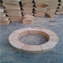 管道木托规格 管道垫木尺寸