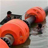 城镇河道清淤管道托浮组合式浮筒