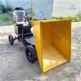 电动水泥运输车 座驾式省力电动灰斗轮车