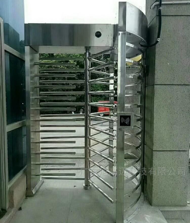 电动三翼120度全封闭式门禁转闸机