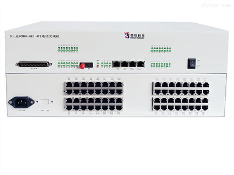 8E1+64路电话+4路百兆光端机