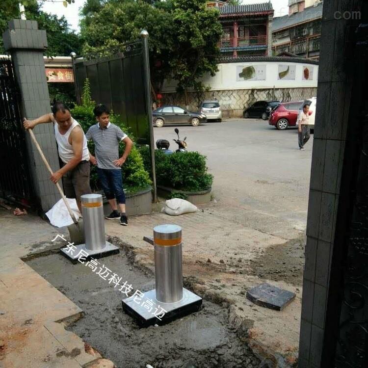 219直径防撞柱 成品电动液压升降柱