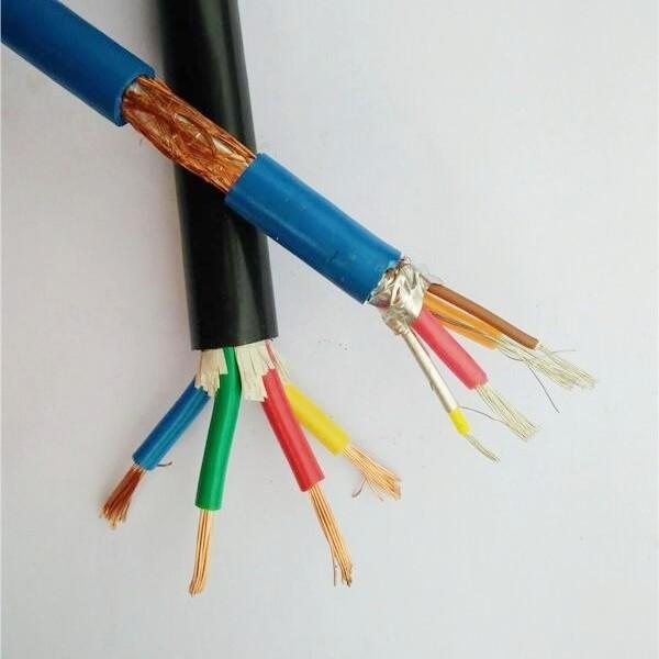 5芯1平方KVVP屏蔽控制电缆价格查询