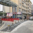 NGM小學幼兒園門口伸縮警示阻車液壓升降柱