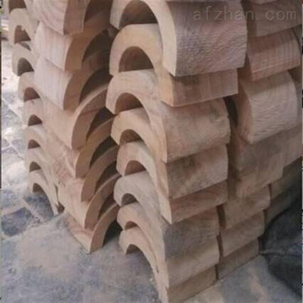 全圆管道垫木反复拆装  防腐管道木托  馨跃