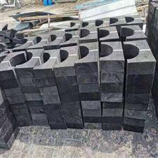 本厂红松木管道垫块制作全过程  材质齐全