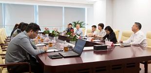 青岛市委统战部、工商联领导一行莅临以萨走访调研