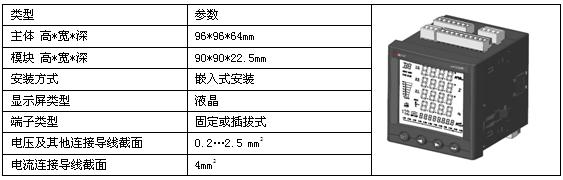 安科瑞APM800网络电力仪表示例图3