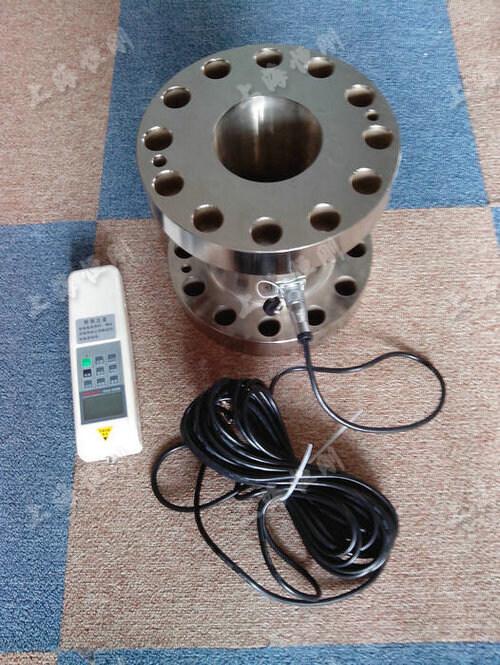 法兰式数显压力测量计图片    量程10KN -100KN