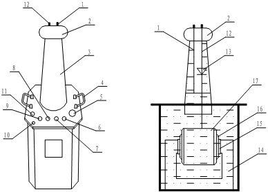 油浸式试验变压器产品图解