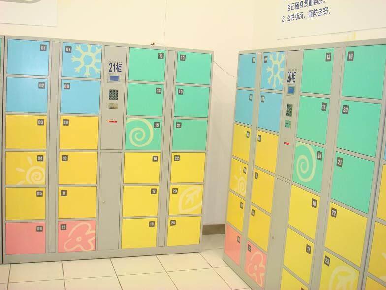 莆田超市条码存包柜