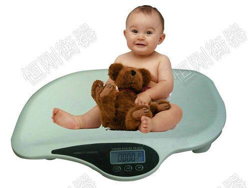 婴儿体检秤