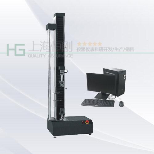 单柱电子材料拉力试验机