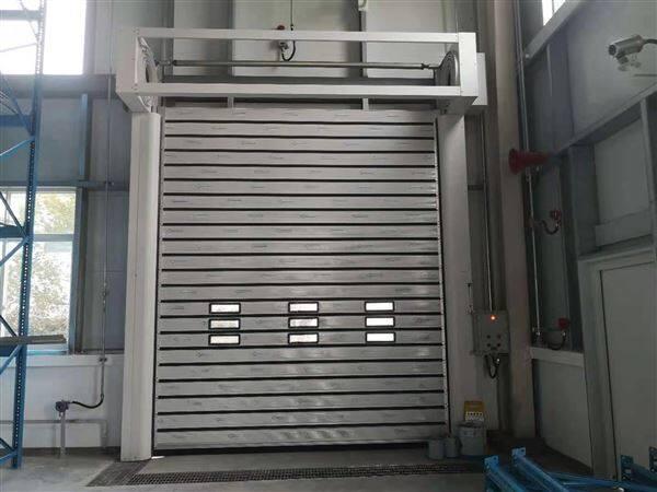 南京双螺旋涡轮铝合金快速门